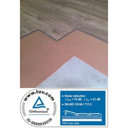 Redfloor PVC ondervloer